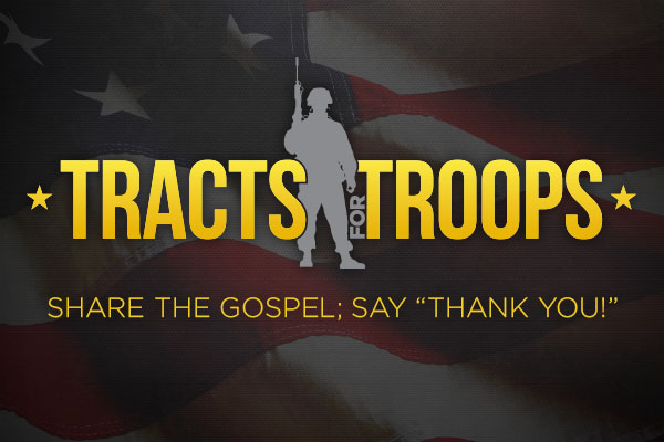 Tracts for Troops SLIDE