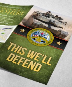 Tract - US Army This Well Defend - Green