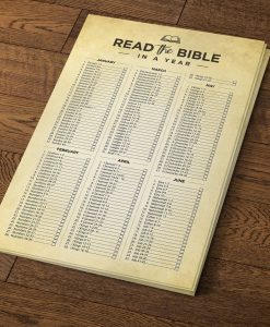 Yearly Bible Reading Schedule