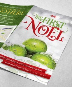 Tract - The First Noel - Green