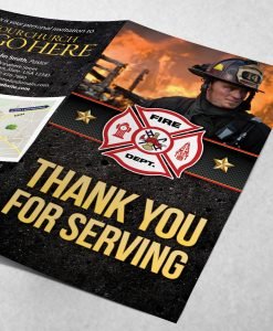 Tract - Thank You for Serving - Black