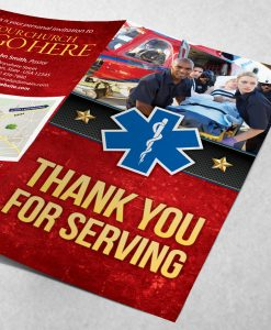 Tract - Thank You for Serving - Red