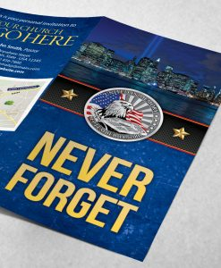 Tract - Never Forget - Blue