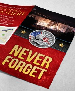 Tract - Never Forget - Red