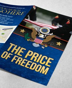 Tract - The Price of Freedom - Blue