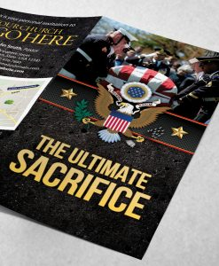 Tract - Ultimate Sacrifice - Black