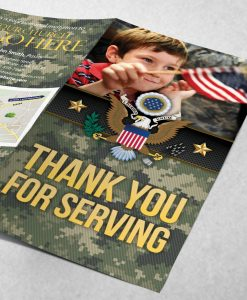 Tract - Thank You for Serving - Green Camo