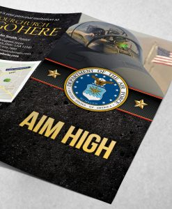 Tract - US Air Force Aim High - Black