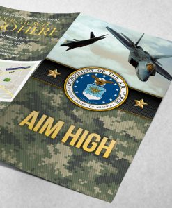 Tract -US Air Force Aim High - Green Camo