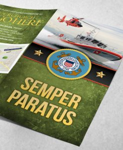 Tract - US Coast Guard Semper Paratus - Green