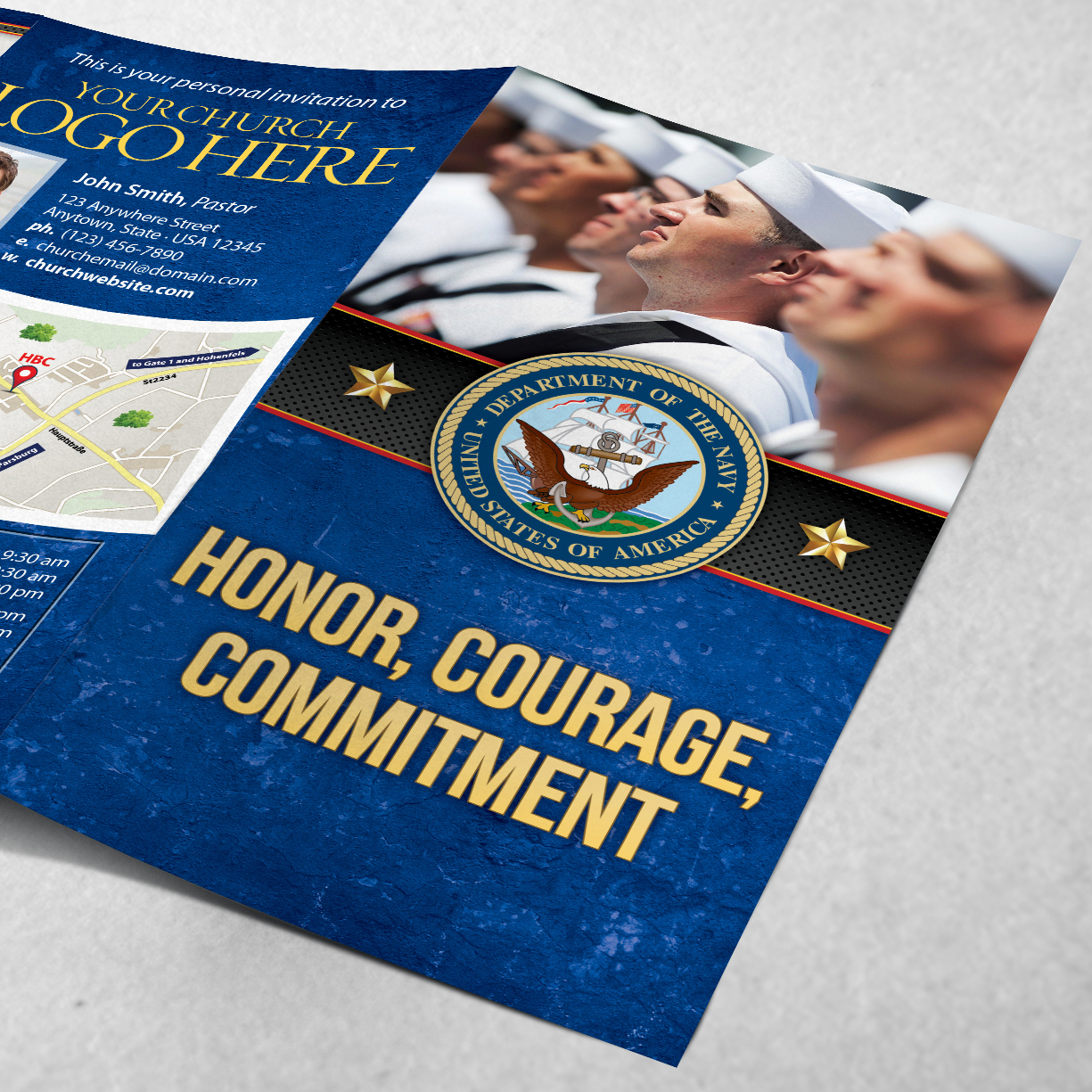 "navy honor courage commitment And if there's a particular navy slogan you find meaningful that you think would popular us navy sayings, mottos, and slogans ""honor, courage, commitment."