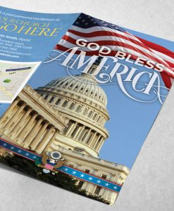 Tract - God Bless America - Capitol Building