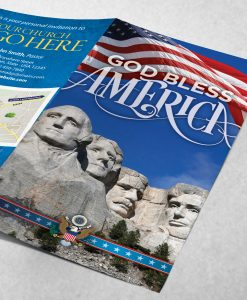 Tract - God Bless America - Mount Rushmore