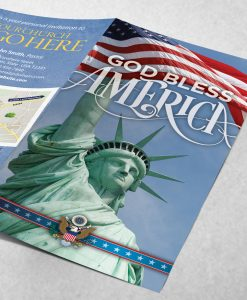 Tract - God Bless America - Statue of Liberty