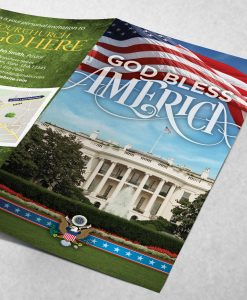 Tract - God Bless America - White House
