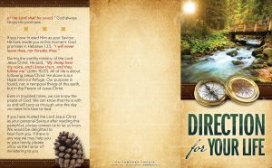 Tract - Direction for Your Life FLAT OUTSIDE