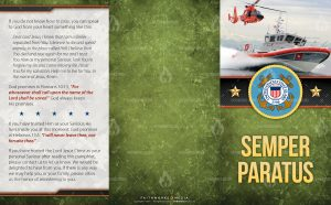 Tract - US Coast Guard Semper Paratus FLAT OUTSIDE