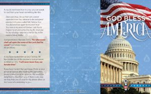 Tract - God Bless America - Capitol Building FLAT OUTSIDE