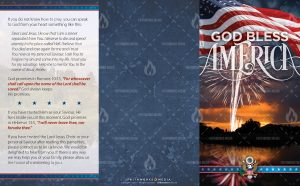 Tract - God Bless America - Fireworks FLAT OUTSIDE