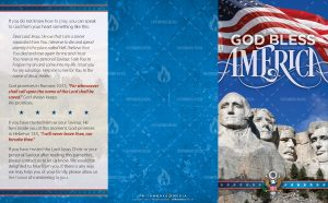 Tract - God Bless America - Mount Rushmore FLAT OUTSIDE