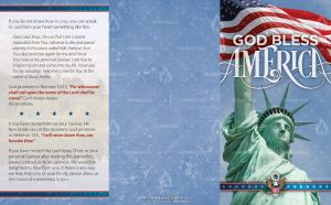 Tract - God Bless America - Statue of Liberty FLAT OUTSIDE