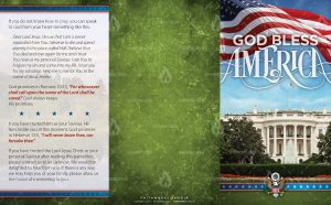 Tract - God Bless America - White House FLAT OUTSIDE