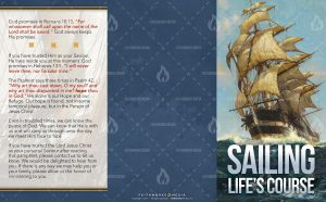 Tract - Sailing Lifes Course FLAT OUTSIDE