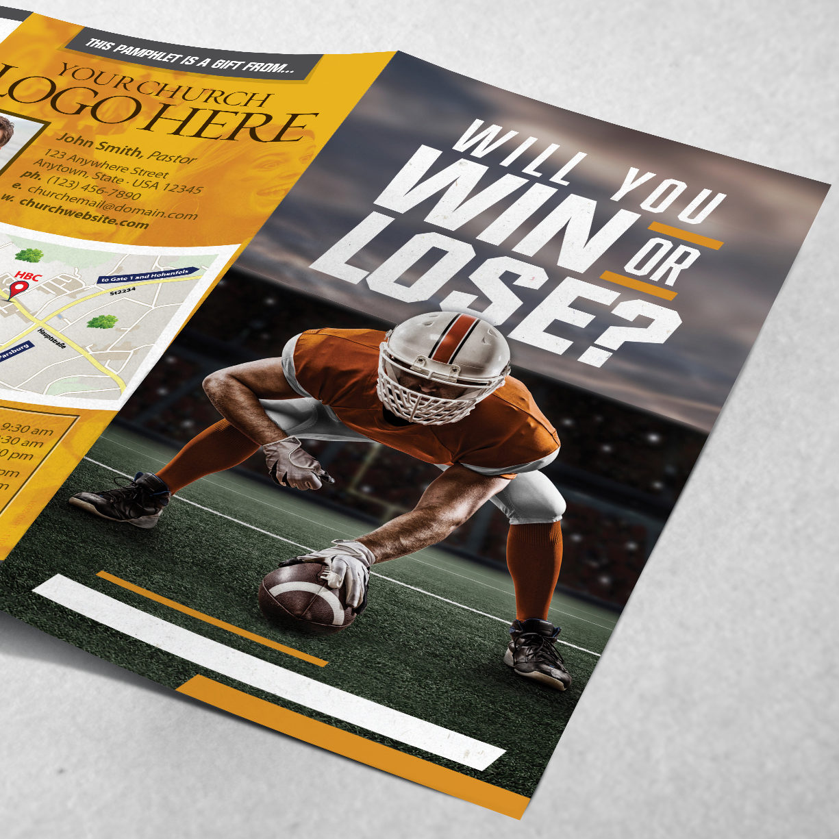 1118A-110 Win or Lose Football TRACT_MOCKUP_Angle - 01_Square