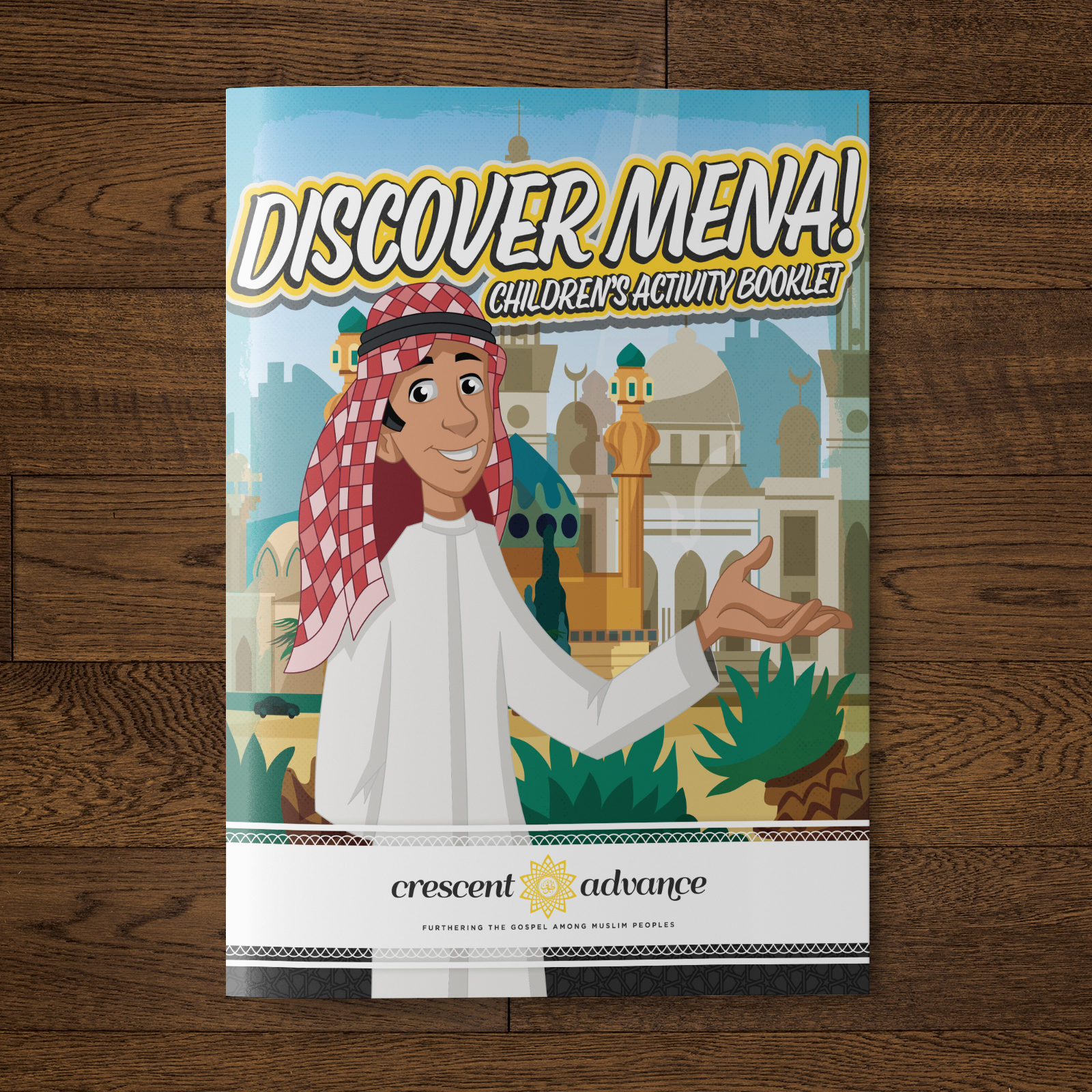 Children's Activity Booklet Mockup 03